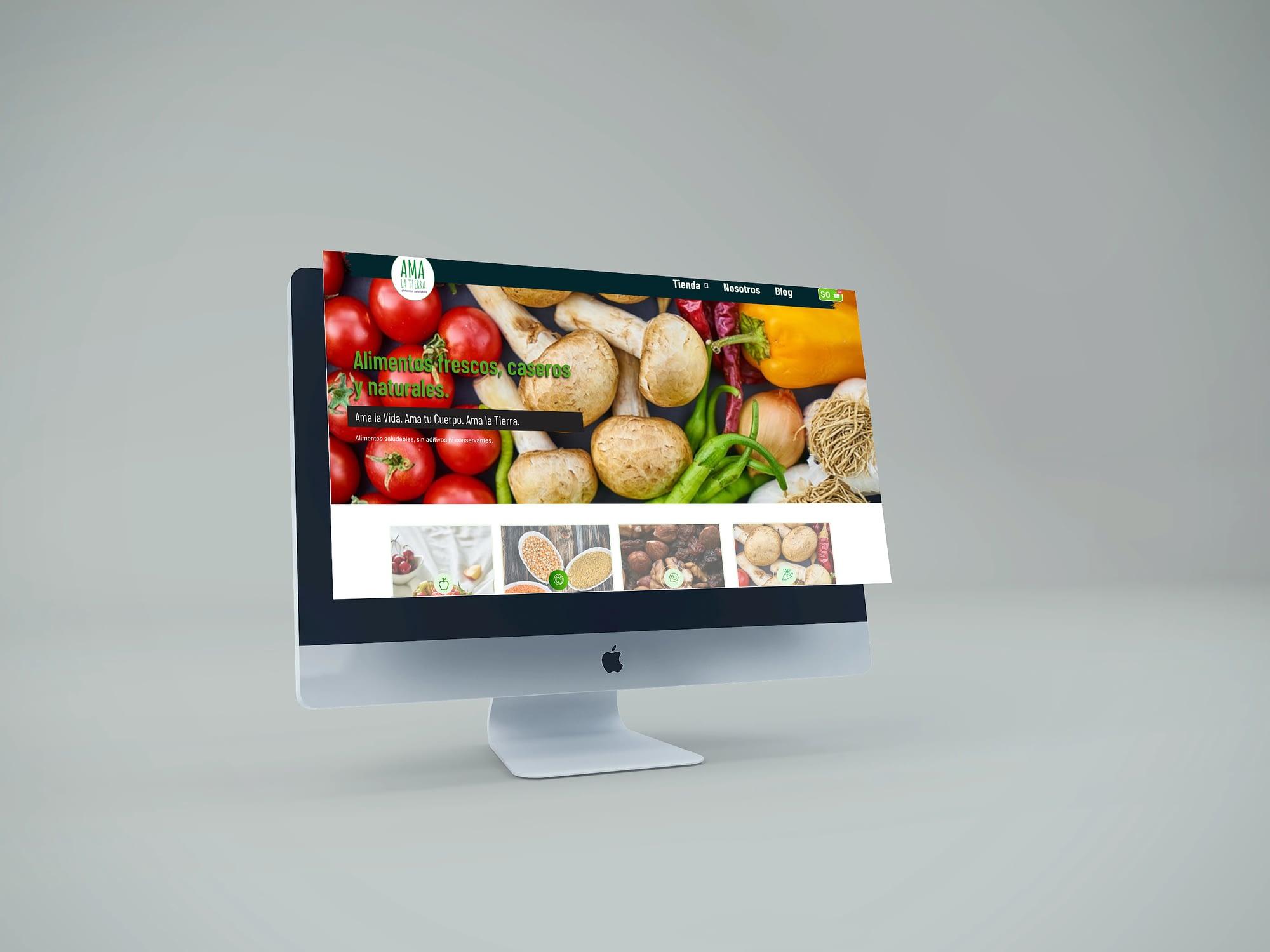 Diseño de e-commerce de productos naturales